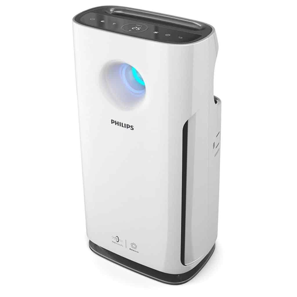 Grâce à sa triple filtration, le Purificateur d'Air Philips AC3256/10 purifie jusqu'à 95 m²