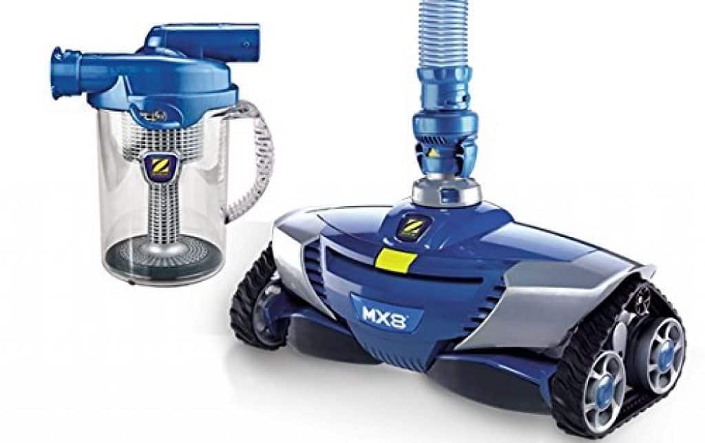 Le Robot de Piscine Zodiac - mx8 : un modèle hydraulique