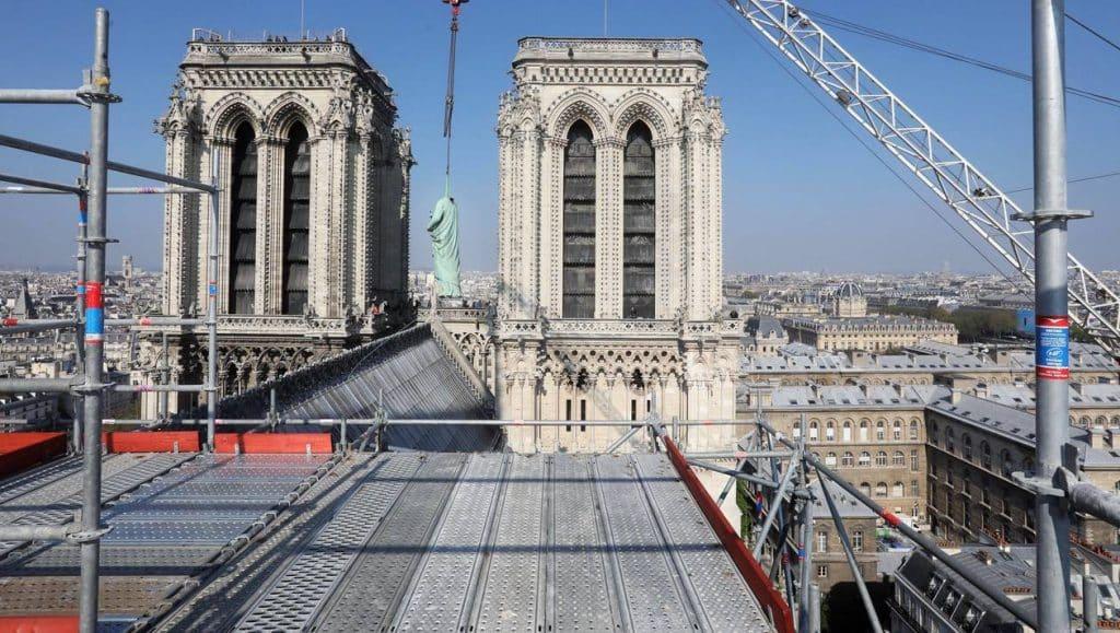 La reconstruction de Notre Dame totalise presque le milliard d'euros.