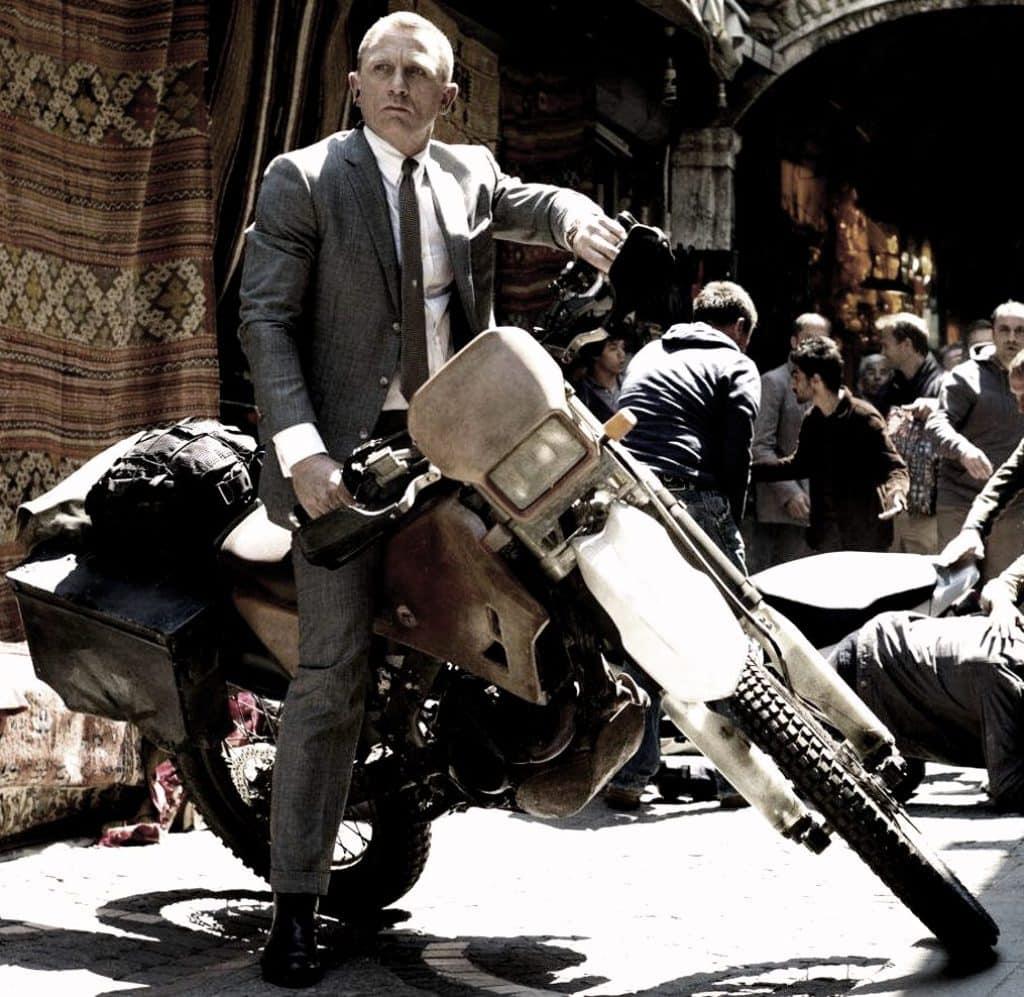 Daniel Craig tient à réaliser ses propres cascades